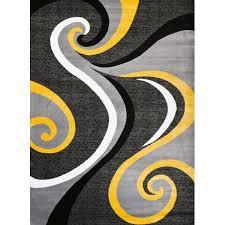 Modern Yellow Rug Zipcode Design Miya Modern Yellow Area Rug Reviews Wayfair