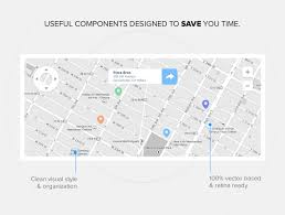 Merchandise Mart Map 30 Awesome And Free Ui Vector Kits For Your Mockups And Wireframes