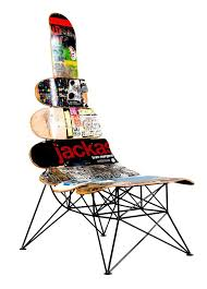 skateboard chairs skateboard deck chairs with hd resolution 439x600 pixels home