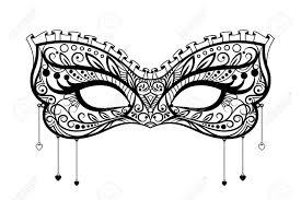 black lace masquerade masks carnival mask black ornate lace masquerade mask vector
