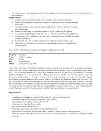 Resume Requirements Murali Tummala Resume In Sap Bo Bi