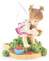 my kitchen fairies entire collection my kitchen fairies olive stuffed fairie figurine