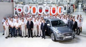 audi quattro all wheel drive six millionth quattro all wheel drive audi completed gtspirit