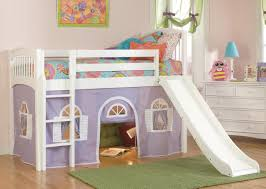bolton windsor low loft bed with curtain