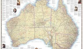 map od australia maps australian geographic