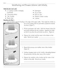 weathering and erosion lesson plans u0026 worksheets reviewed by teachers