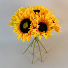 artificial sunflowers artificial sunflowers bouquet artificial flowers