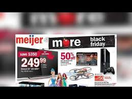 shoppers to meijer on thanksgiving for early black friday