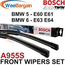 bmw 5 series e60 e61 new genuine bosch a955s aerotwin front wiper