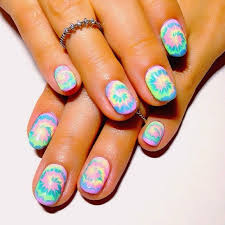 best 25 hippie nails ideas on pinterest hippie nail art tie