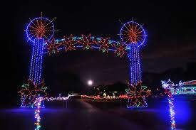 yukon ok christmas lights yukon s christmas in the park location dates times