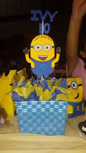 minions centerpieces minions birthday party ideas photo 8 of 15 catch my party