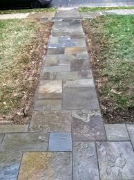 custom stoneworks u0026 design inc flagstone walkway and steps in