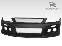lexus is300 white fog lights 2000 2005 lexus is series is300 duraflex eg r front bumper 1 piece