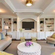 Family Room Builtins With Eclipse Mullions Planning And - Family room built ins