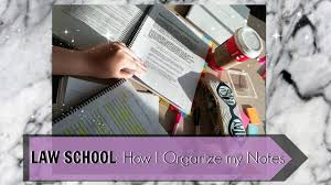 law study tips how i organize my notes powerpoint