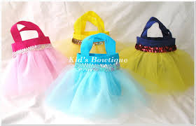 princess candy bags 4 tutu party gift bags for a disney princess themed birthday