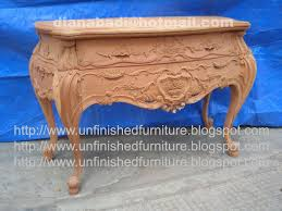 Unpainted Furniture Near Me Unfinished Mahogany Furniture Bombay Rose Carved 2 Drawer Dresser