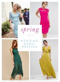 beautiful dresses to wear as a wedding guest in spring 2017
