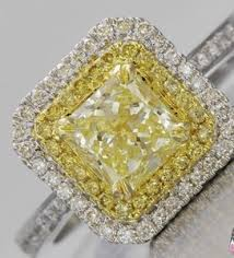 san diego wedding bands yellow canary diamond antique ring jewelry store san diego
