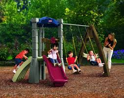 Swing Set For Backyard by Best Backyard Swing Sets For Kids Seekyt