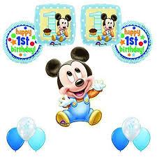 mickey mouse 1st birthday mickey mouse 1st birthday party 11pc balloon decoration kit