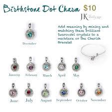 s day bracelet with birthstones cherish bracelet wax seal charm charm and birthstone dot