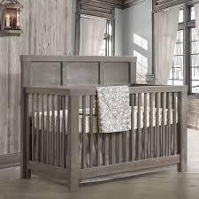 Cribs Convertible Rustico Convertible Crib Owl And Nursery Necessities In Interior