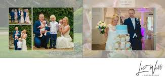 wedding album pages manor by the lake wedding album pages 22 23 natalie and will