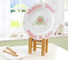 personalized ceramic plates summer personalized ceramic plates pottery barn kids
