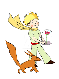 Little Berry The Little Prince With His Rose And Fox By Astral Berry On Deviantart