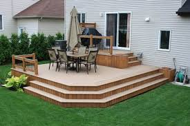 Backyard Deck Ideas A Backyard Deck Designs Could Boost The Appearance Of Your House