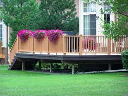 backyard deck decorating ideas u2014 indoor outdoor homes easy deck