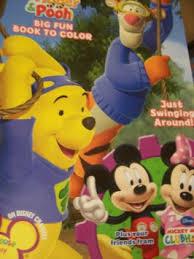 buy disney mickey mouse big fun book color fine