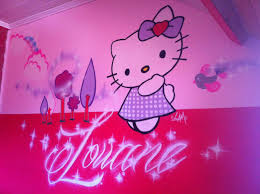fresque chambre fille graffiti deco graff décoration bébé baby graffeur déco taggeur