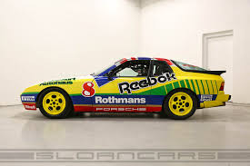 porsche rothmans 1987 porsche 944 turbo rothmans cup car sloan cars