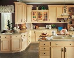 Unique Natural Birch Kitchen Cabinets Cabinet With Color Counter - Birch kitchen cabinet