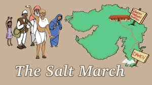 mahatma gandhi the salt march the dandi march story for