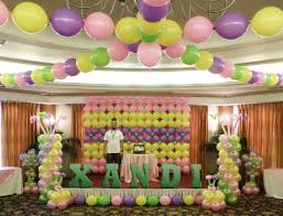 Balloon Decoration For Birthday At Home by Wonderfully Done Balloon Decorations At Casino Espanol Cebu