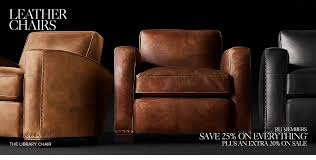 Tan Leather Chair Sale Chairs Rh