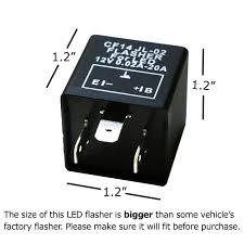 amazon com ijdmtoy 1 3 pin cf14 ep35 electronic led flasher