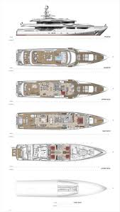 Yacht Floor Plan by 841 Best Yacht Images On Pinterest Luxury Yachts Super Yachts