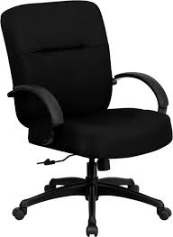Signature Series 400 lb Capacity Big  Tall Black Fabric Office