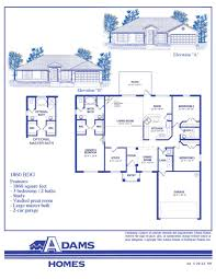 Breland Homes Floor Plans by 28 Adams Home Floor Plans Bryerstone Adams Homes Adams