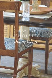 Reupholstering A Dining Room Chair Reupholster Dining Room Chairs Timeless Creations Llc