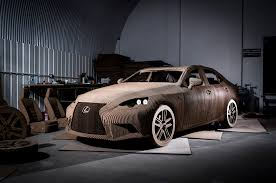 lexus hoverboard usa today this full scale origami inspired lexus is sedan is made of cardboard
