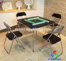 5 Piece Folding Table And Chair Set Mahjong Table Set Mahjong Table Set Suppliers And Manufacturers