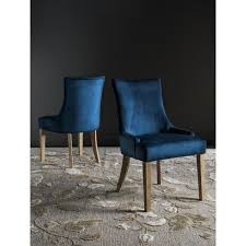 Blue Upholstered Dining Chairs Navy Blue Upholstered Dining Chairs Home Pinterest