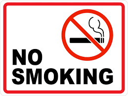 no smoking ii wall sign creative safety supply