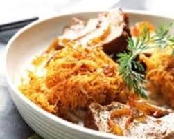 cuisine az com recette rôti de veau et buisson de carottes